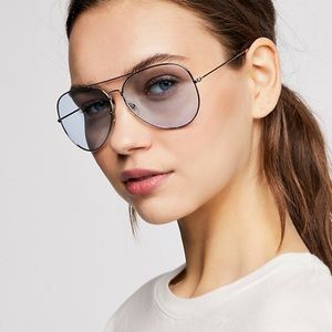 Accessories - Austin Aviator SUNGLASSES Blue Sky Brow Bar NEW